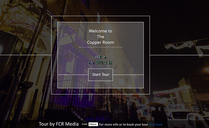 The Copper Room 360 Virtual Tour #3VT